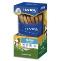 Crayon graphite Lyra Ferby Nature pot de 36