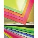 Papier affiche Clairefontaine paquet de 25 feuilles format 60x80cm 75 grammes couleur orange