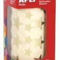 AGIPA Rouleau de 2360 gommettes forme étoiles coloris or