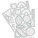 MAILDOR 240 gommettes Tocolor géométriques à colorier