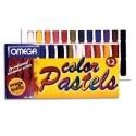 Pastel sec OZI coloris assortis, 0,9 cm de diamètre boite de 12