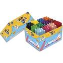 Feutre de coloriage Bic Visacolor pointe extra-large classpack 124+20 feutes dessin gratuits couleurs assorties