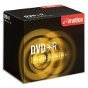IMATION Pack de 10 DVD-RW 4X boitier cristal +redv