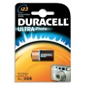 DURACELL Blister d'1 pile 123 Ultra Lithium Duralock pour appareils photos