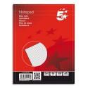Bloc de bureau Eco 5* 60g agrafé en tête 200 pages 5x5 14,8x21 Couverture papier