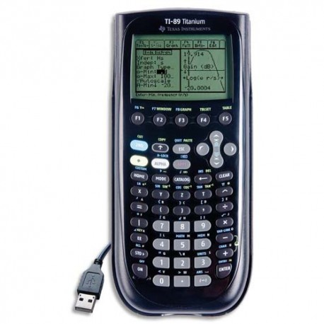 Calculatrice graphique Texas Instruments TI 89 TITANIUM
