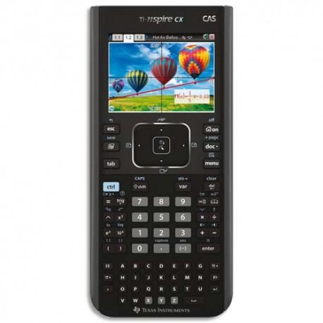 Calculatrice graphique Texas Instruments TI-NSPIRE CX CAS + logiciel