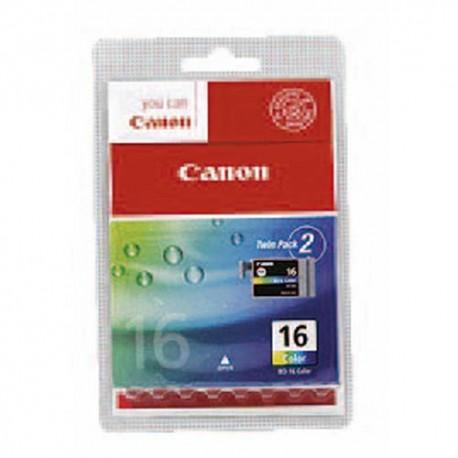 CANON BCI-16CL (BCI16CL/9818B002) Cartouche 3 couleurs de marque Canon BCI16CL-9818A002