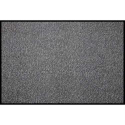 HYGIENE Tapis d'accueil d'intérieur Contract Plus polyamide 120 x 180 cm, épaisseur 10mm gris anthracite