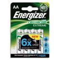 ENERGIZER Blister de 4 accus rechargeables AA/HR6 2300mAh