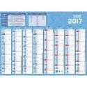CBG Calendrier septembre/décembre 8 mois par face format : 40,5x55 cm