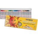 Pastel à l'huile OZI Cray-pass Junior Artist 8mm couleurs assorties boite de 25