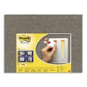 Panneau d'affichage Post-it surface brun format 58,5 x 46 cm