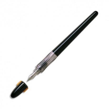 Stylo plume Pilot de calligraphie plume moyenne corps noir