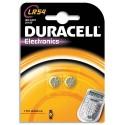 DURACELL Blister de 2 piles Alcalines LR54 Duralock pour appareils électroniques