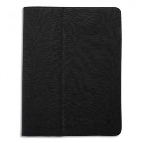 AKASHI etui folio ipad air 2 /air black simili cuir (+ sleeping function) ALTEID5LZBL