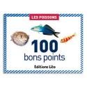 LITO DIFFUSION Boîte de 100 bons points les poissons
