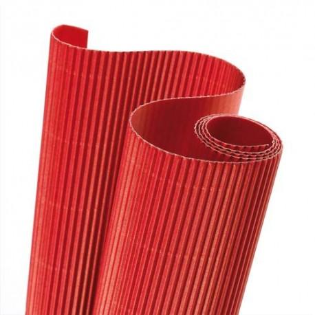 canson rouleau de carton ondul 314g 0 5 x 0 7m rouge direct papeterie. Black Bedroom Furniture Sets. Home Design Ideas