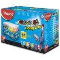 Feutre de coloriage Maped Colorpeps pointe moyenne Schoolpack de 144 feutres dessin coloris assortis