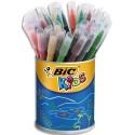 Feutre de coloriage Bic Kic couleur pointe moyenne pot de 36 feutres dessin coloris assortis