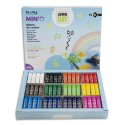 MINO Schoolpack de 96 sticks de gouache 10g couleurs assorties