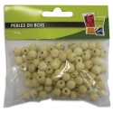 PW INTERNATIONAL Sachet de 250 perles en bois brut diamètre 5mm à décorer