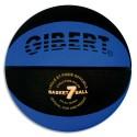 Ballon basket T. 7 en caoutchouc grainé vulcanisé. Taille et poids officiels