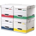Archivage BANKERS BOX - Conteneur cube SYSTEM L35xh28xp35cm, montage automatique, carton recyclé assortis