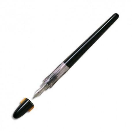 Stylo plume Pilot de calligraphie plume large corps noir