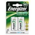 ENERGIZER Blister de 2 accus rechargeables C/HR14 2500mAh