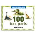 LITO DIFFUSION Boîte de 100 bons points les dinosaures