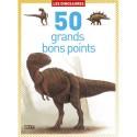 LITO DIFFUSION Boîte de 50 grands bons points dinosaures, format 9,8 x 13,5 cm
