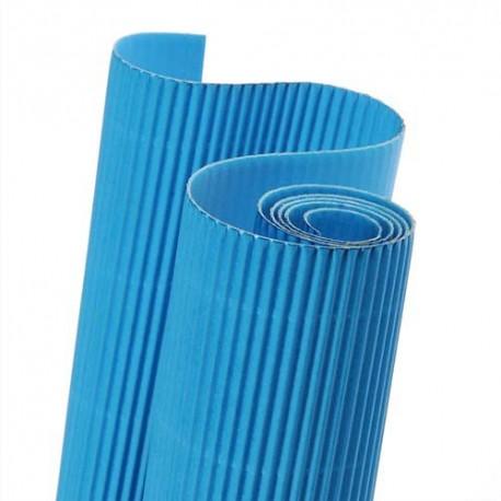 canson rouleau de carton ondul 314g 0 5 x 0 7m bleu turquoise direct papeterie. Black Bedroom Furniture Sets. Home Design Ideas