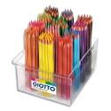 Crayon de couleur Giotto Stilnovo corps hexagonal assortis diamètre 3,3 mm schoolpack de 192