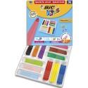 Feutre de coloriage Bic Visacolor XL pointe extra-large classpack de 96 feutres dessin couleurs assorties