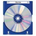 HAN Porte 10 CD MAX TRAY coloris bleu
