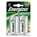 ENERGIZER Blister de 2 accus rechargeables D/HR20 2500mAh
