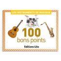 LITO DIFFUSION Boîte de 100 bon points thèmes instruments de musique