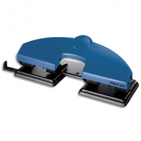 Perforateur 4 trous ESSELTE perforation capacité 25 feuilles Bleu