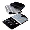 Porte vues ELBA - Protège-documents TOUT TERRAIN 20 faisceaux de 10 pochettes soit 400 vues Coloris noir.