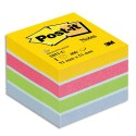 Bloc cube mini Post-it de 400 feuilles 5.1x5.1cm couleur ultra