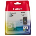 CANON CL-51 (CL51/0618B001) Cartouche jet d'encre couleur CL51 0618B001