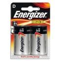 ENERGIZER blister de 2 pile d LR20 max E300129200