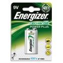 ENERGIZER Blister de 1 accu rechargeable 9V HR9V 175mAh