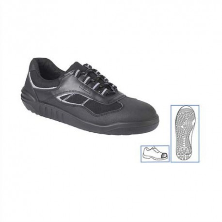 PARADE Paire de Chaussures Linéa basse, tige en cuir et toile Pointure 40