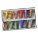Pastel à l'huile Pentel diamètre 8mm couleurs assorties boite de 50