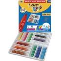 Feutre de coloriage Bic Kid pointe moyenne classpack de 144 feutres dessin couleur assortis