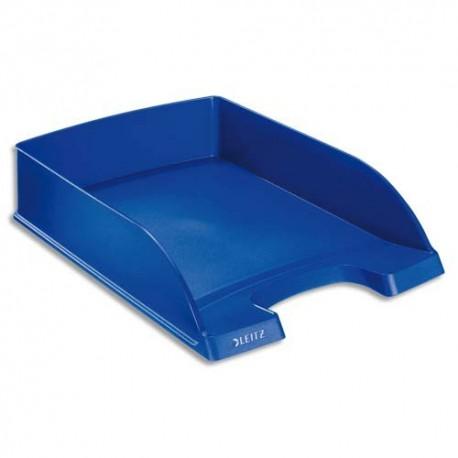 Corbeille à courrier Leitz - Corbeille Plus standard Bleu foncé - Dim L25,5 x H7 x P36 cm