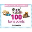 LITO DIFFUSION Boîte de 100 bons points thème fleurs, 20 images par 5 ex avec texte documentaire au dos