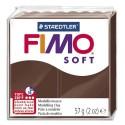 DTM Pâte à cuir Fimo Soft de 56 g coloris Terre cuite